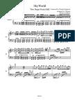 skyrim piano sheet music pdf