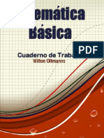 Cuaderno de Trabajo Matematica Basica