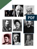Personajes Rev Rusa