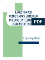 Gestion Por Competencias M. Carmen Noguer