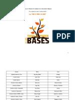 Programa FEUV 2014