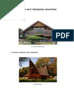 Rumah Adat Tradisonal Nusantara