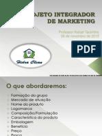 Projeto Integrador marketing apresentação