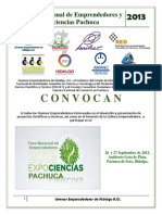 5to Foro Nacional de Emprendedores y Expociencias Pachuca 2013 (1)
