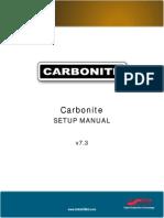 Carbonite Setup Manual(4802DR 120 07.3) E