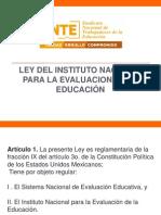 Ley Del Inee