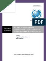 Laporan Karya Akhir Aplikasi Penjualan Pelengkapan Pertanian Berbasis Web Pada Toko UD. Pertanian XYZ.pdf