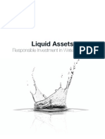 Liquid Assets Responsible Investment in Water Services