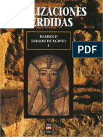 Civilizaciones Perdidas Nº 1, Ramses II Faraon De Todo Egipto