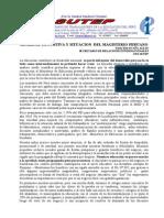 Realidad+Nacional+y+Situacion++Del+Magisterio+Peruano