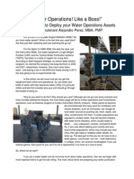 """Water Operations!....Like a Boss!"" - A Quick Guide to Deploy your Water Operations Assets - Military Logistics Article"