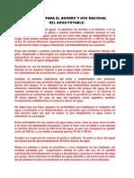 TEXTO CALENDARIO CAMPAÑA PARA EL AHORRO Y USO RACIONAL DEL AGUA POTABLE2