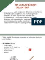 Sistema de Suspension Delantera(1)