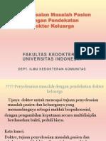 Penyelesaian Masalah pendektan dok keluarga, UPN , okt 10.ppt
