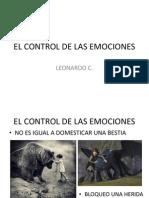 El Control de Las Emociones