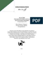 ACTAS DEL COLOQUIO INTERNACIONAL LO FANTÁSTICO DIVERSO 2010 - versión pdf