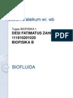 biofluida by Desi F.Z.