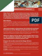 Hoja de Sala Diego Rivera