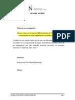 Informe de Tesis 2013-II