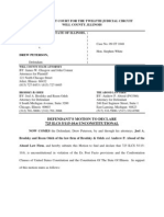 Drew Peterson Motion to Exclude Hearsay Evidence of Savio - Justice Café - http://petersonstory.wordpress.com/