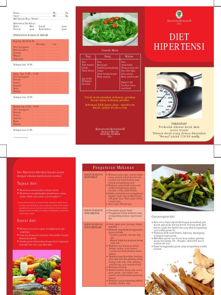 Brosur Diet Hipertensi Pdf
