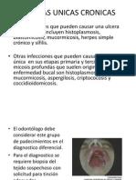 Ulceras Unicas Cronicas
