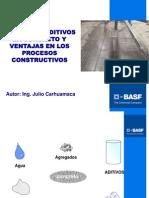 Presentacion Uso de Aditivos Para Concreto y Ventajas en Los p.c. Uni