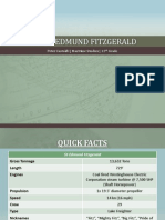 The SS Edmund Fitzgerald - A PowerPoint Brief
