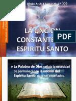 4 Ago 2013 Uncion Constante Espiritu Santo