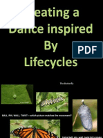 lifecycles for art - dance lesson 3 of 4 powerpoint