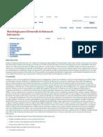 Metodología para el Desarrollo de Sistema de Información - Monografias