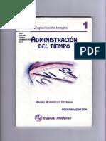 91618133 Administracion Del Tiempo Mauro Rodriguez Estrada