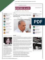 11-11-2013 'Tocará PP puertas de Cámara de Diputados; espera Recursos'.
