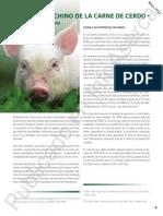Mercado Chino de La Carne de Cerdo Primera Parte