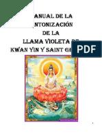 Manual de La Llama Violeta de Kwan Yin y Saint Germain - Corazon Cristal