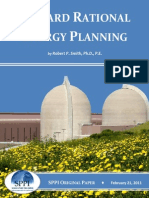 Toward Rational Energy Planning