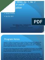 MUSC160-ProgramNotesEybler.ppt