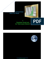 Population - Climb and Collapse and the Open-space Delusion ...  (previous ppt 2)