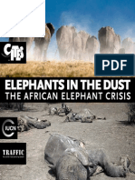 Elephants in the Dust - The African Elephant Crisis
