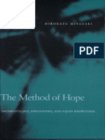 The Method of Hope - Anthropology, Philosophy and Fijian Knowledge