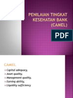 Analisis CAMEL-Penilaian Tingkat Kesehatan Bank