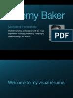 Jeremy Baker's Visual Resume