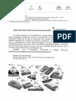 materiale inform. privind serv. SPO