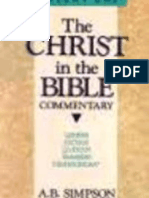 Christ in the Bible as seen through the book of Joshua