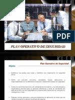 Plan Operativo de Seguridad
