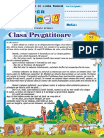 Limba Romana Editia Mai 2013 Clasa Pregatitoare