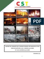 Rapport Enquete CST Incendie Marches