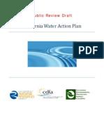 California Water Action Plan draft