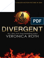Divergent by Veronica Roth - Extract