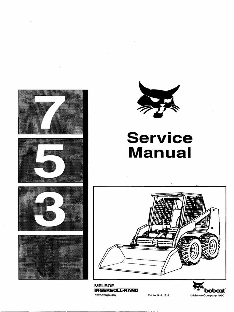 2004 Bobcat 763 Wiring Diagram Trusted Schematics 610 For 853 Electrical Diagrams 753 Parts